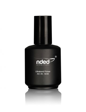 A very effective product – the nded ultrabond primer. This is a high-quality primer for a great number of applications. The liquid can be easily transferred into smaller containers. #nded #ultrabond #primer  www.nded.com