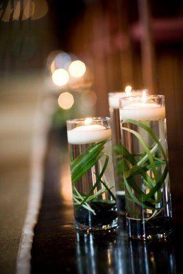 Reception, Flowers & Decor, Decor, white, green, Candles