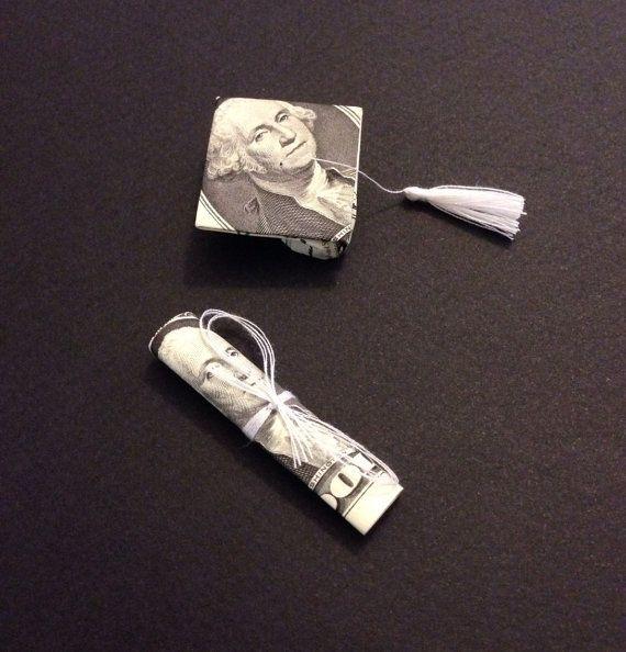 Money Origami Graduation Cap & Diploma - Nice Grad Gift on ... - photo#10