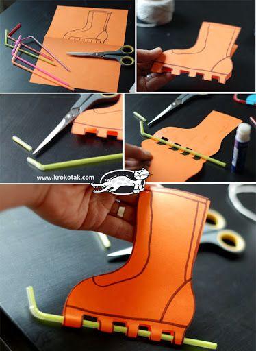 Schaatsen #knutselen. Skates crafts. BARKÁCS - Klára Balassáné - Picasa Web Albums