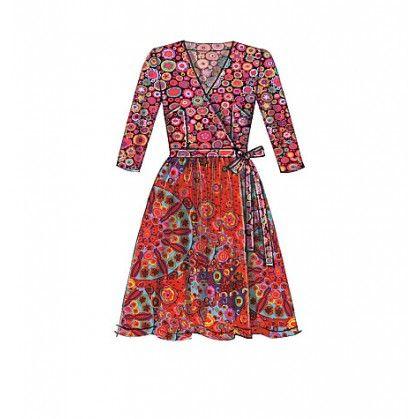 patron robes ajustées McCall's M7189