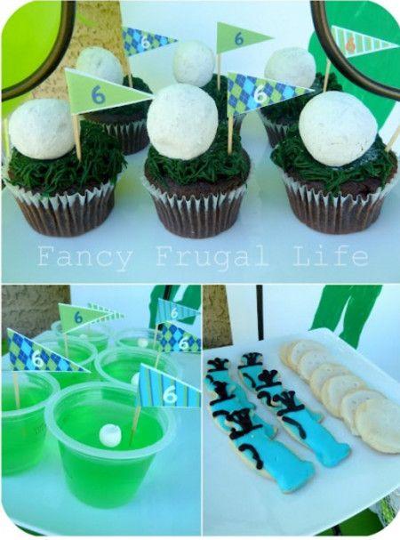 mini golf party food ideas