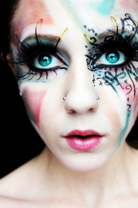 scary halloween makeup for women - Scary Halloween Eye Makeup