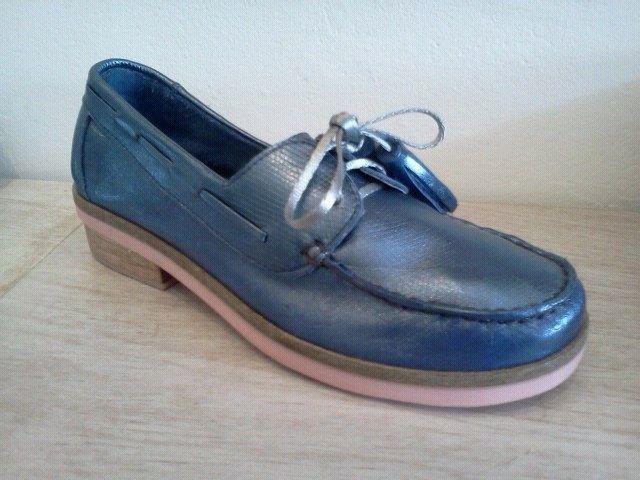Zapato estilo Apache,  Baleta, Cuero, Caduto, Camomille, Calzado