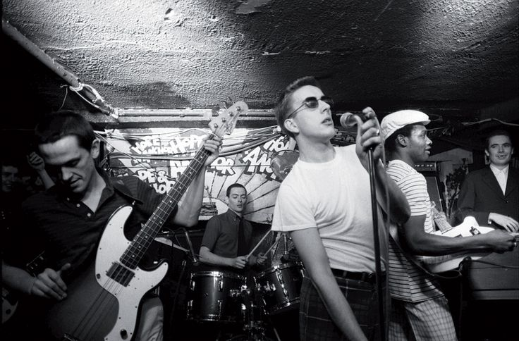 Can you imagine the fun? The Specials playing live at The Hope & Anchor, Islington. 1981 #thespecials #specials