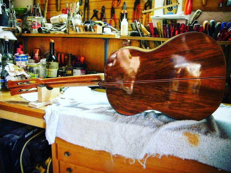 Walnut classic guitar