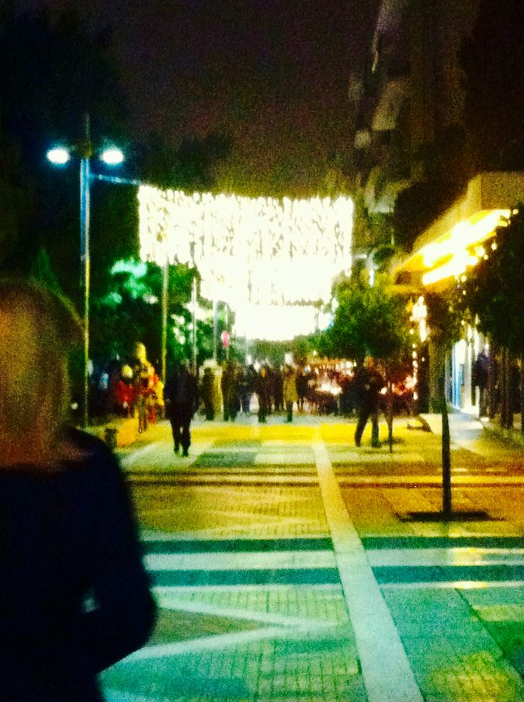 Στολισμένη Πλατεία 2014 - 25ης Μαρτίου Φωτογραφία: Γιώργος Περάκης