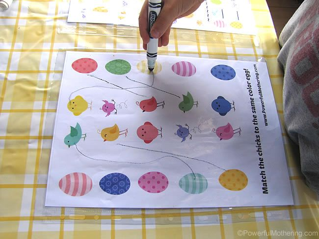 Easter Printable Activities for Kids   – Holidays