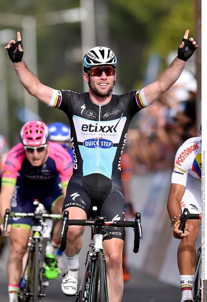 Mark Cavendish wins the stage 7 sprint Tour de San Luis photo @Tim de Waele / TDWSPORT.com