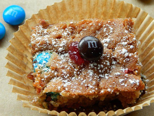 here s a recipe for rich raspberry m amp m bars # bakingideas # shop ...