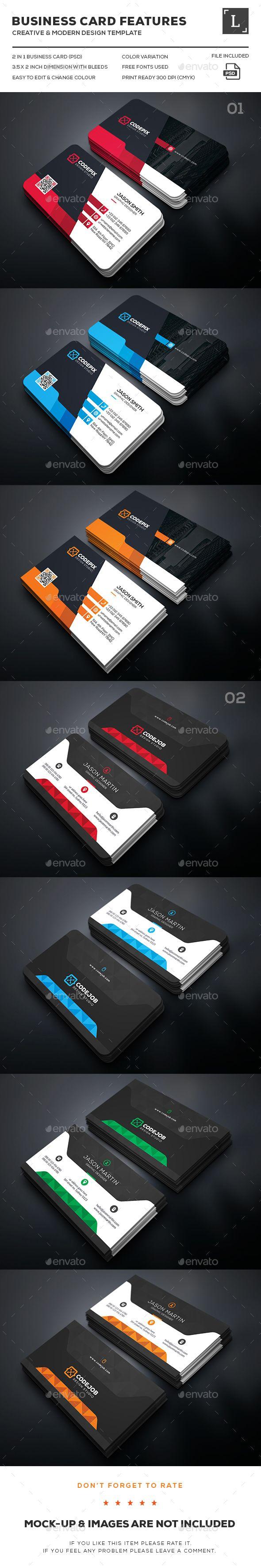 208 Best Business Cards Images On Pinterest Business Card Design