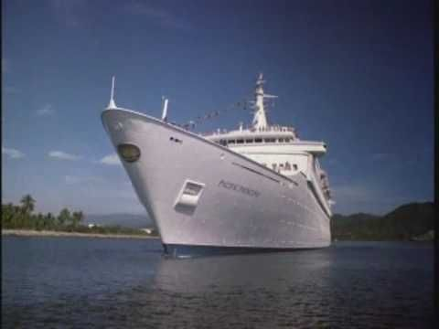 It's an open smile on a friendly shore...welcome aboard! {The Love Boat}