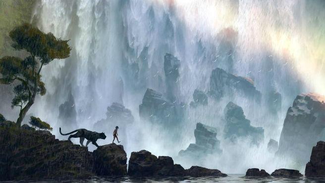 「アイアンマン」のジョン・ファヴロー監督がメガホンをとるディズニー映画「ジャングル・ブック」のコンセプトアートが公開。スカーレット・ヨハンソンやビル・マーレイなど豪華声優陣が集結の予定。来年10月9日全米公開。