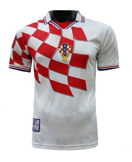 1998 Croatia World Cup Home Jersey