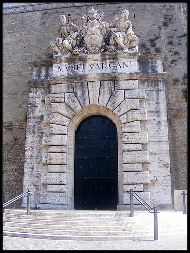 Entrance to Vatican Museums