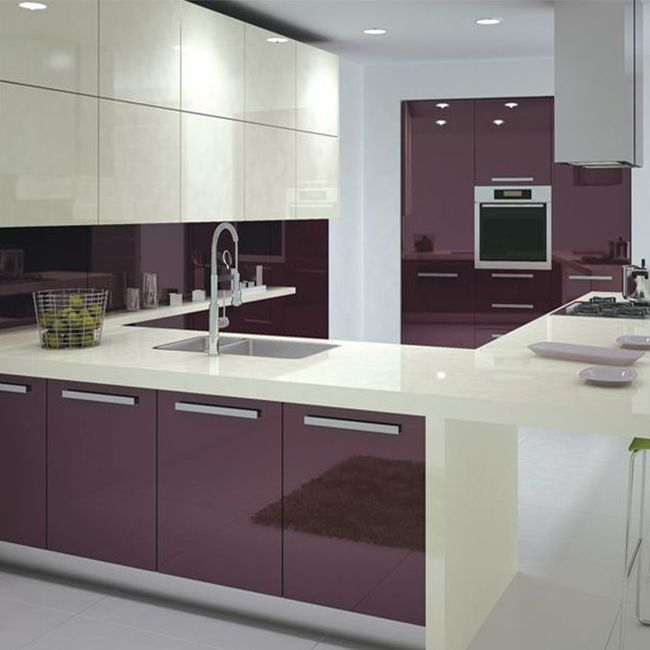 Green Brown Kitchen Ideas: Aluminium Kitchen Cabinet Design Of Kitchen Hanging Cabinets