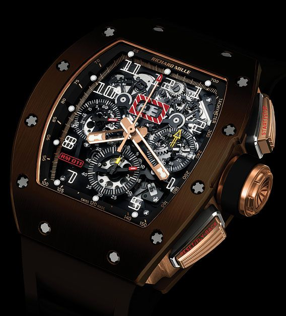 Richard Mille RM 011 Brown Silicon Nitride | Perpetuelle