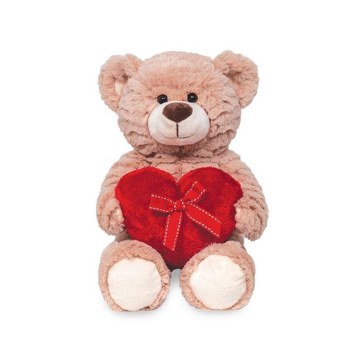 Ursinho de Pelúcia - Gift Love Super macio e delicado. Ideal para presentear a pessoa amada ou pedir de presente
