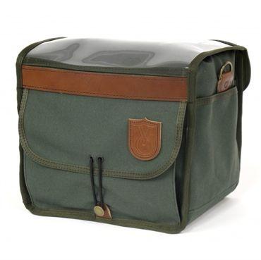Practical Cycles. Velo Orange Grand Cru Canvas & Leather Handlebar Bag