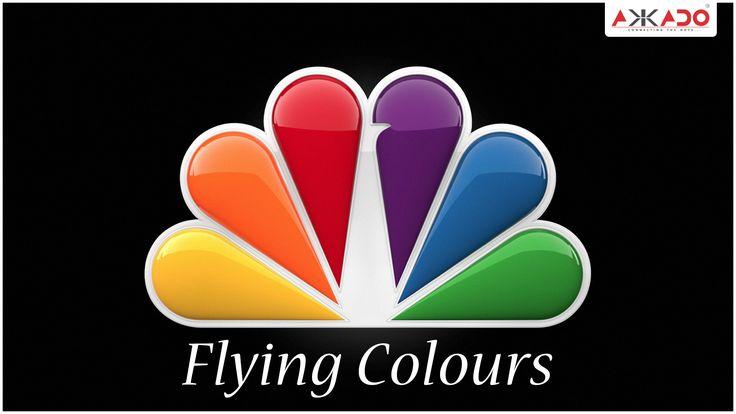#NBC logo with a story! #Akkado #ConnectingtheDots #LogoStory #NBC