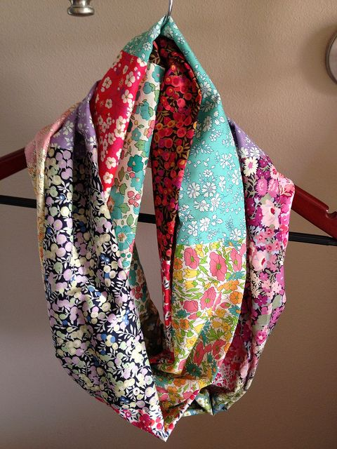Liberty Lawn Infinity Scarf by Samilou1 (Sleepy Owl Studio). sleepyowlstudio.wordpress.com