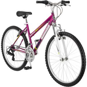 "Roadmaster Granite Peak 26"" Ladies Mountain Bike, Magenta - $80 at Walmart"