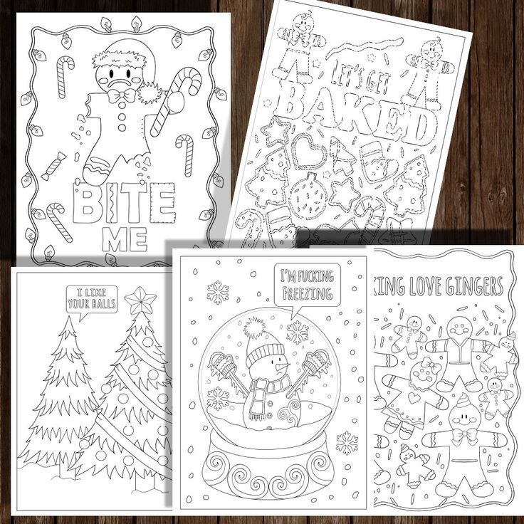 A personal favourite from my Etsy shop https://www.etsy.com/listing/493915867/christmas-coloring-book-10-pages-instant