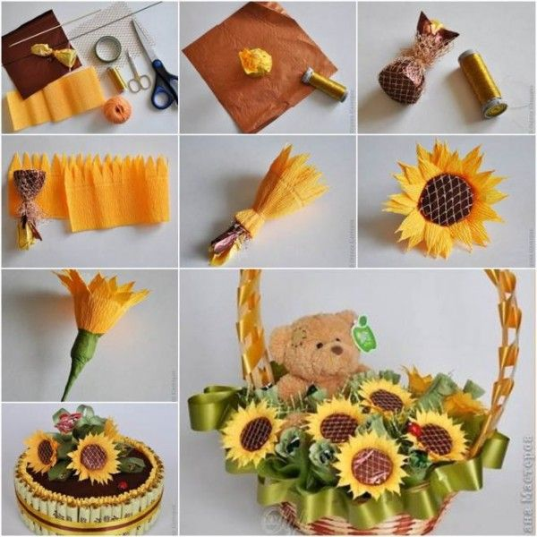 How to make chocolate flower bouquet for Mother's day - Home Decor | LittlePieceOfMe