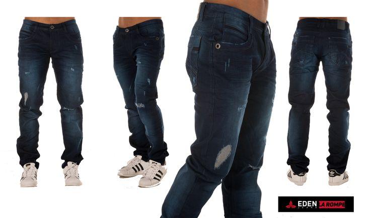 Visita nuestra tienda online y escoge entre muchas referencias el jean que prefieras. No dejes que se agoten. 👉👉👉 Compra en línea. #EdenJeans #ModaMasculina #ProductoColombiano #EdenLaRompe