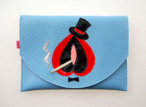 Het roken hete Vulvette in baby blue van ampule op Etsy