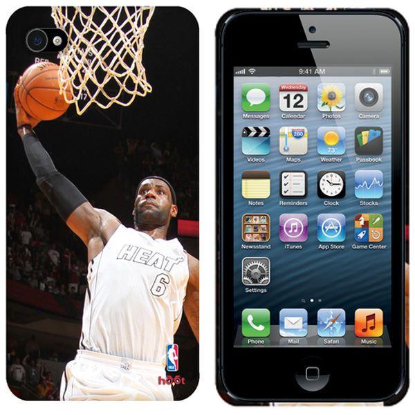 LeBron James Miami Heat iPhone 5 Action Image Phone Case - $10.99