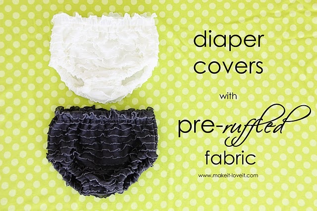 This is so on. Buying me some ruffle fabric this week!Sewing, Little Girls, Pre Ruffles Fabrics, Ruffles Diapers, Baby Girls, Diapers Covers, Kids, Diaper Covers, Baby Shower