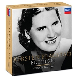 Kirsten Flagstad - 'Kirsten Flagstad - The Decca Recitals (10 CDs)'