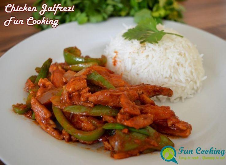15 minutes Chicken Jalfrezi