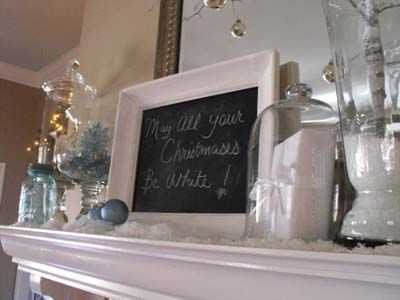 Pretty Christmas Mantle Decor Ideas