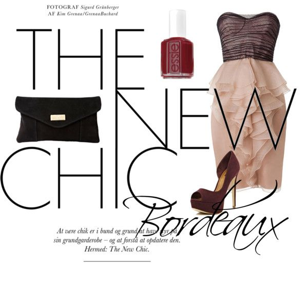"""Bordeaux"" by tobiashansen on Polyvore"