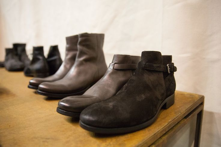 Buttero FW '15 dress shoes at Pitti Uomo 87.