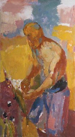 El pionero, estudio para el Hombre en el Trigal (1951) Juan Carlos Castagnino