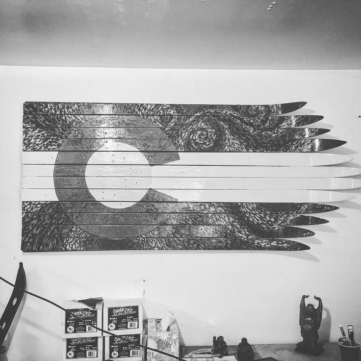 Getting funky with the wall flags. #wallflag #wallart #skicanvas #custom #anysize #homedecor #handpainted #madeincolorado #coloradosprings #colorado #frontrange #coloradolove #denverlife #designyourown #denvercolorado #denver #ski #sale #valentines #vangogh #valentinesday by coloradoskifurniture https://www.instagram.com/p/BBqi6hNHDPh/