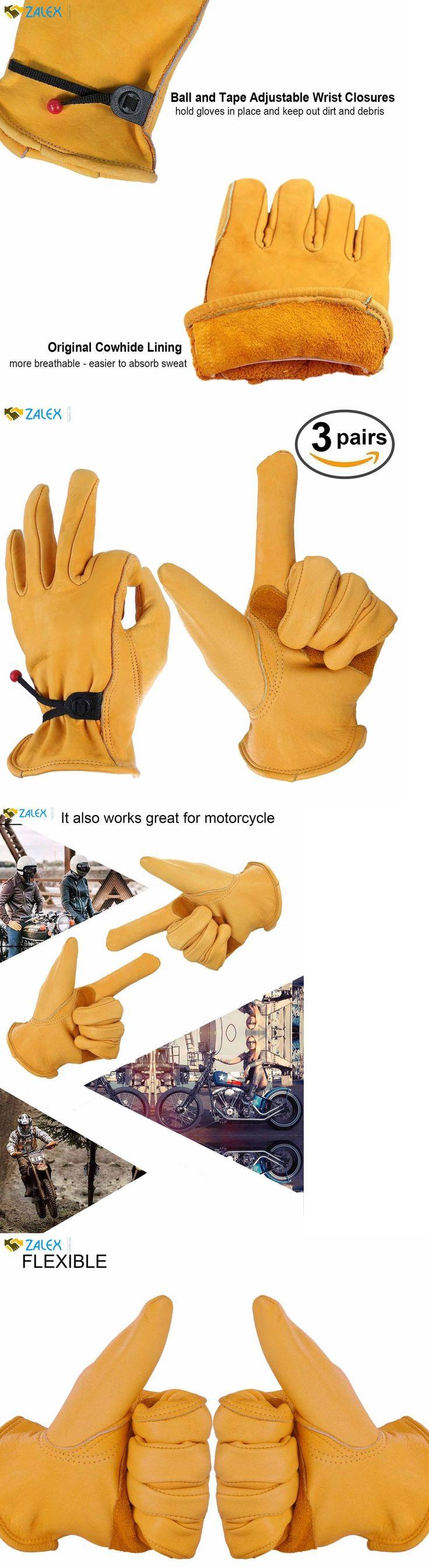 Leather work gloves ebay - Gardening Gloves 139864 Ozero Leather Work Gloves For Gardening Men Women With Adjustable Lederarbeitshandschuhegartenhandschuhelederverarbeitung