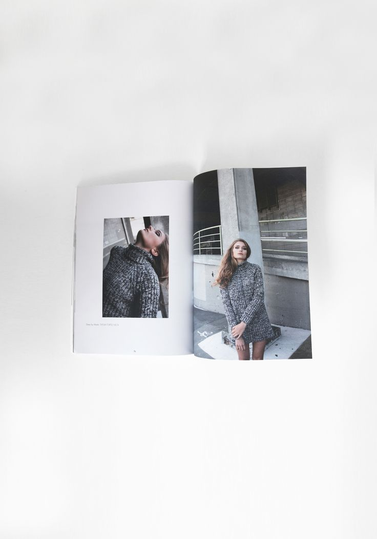 'Tuck and Pull' fashion editorial | @vanemagazine #graphicdesign #publication