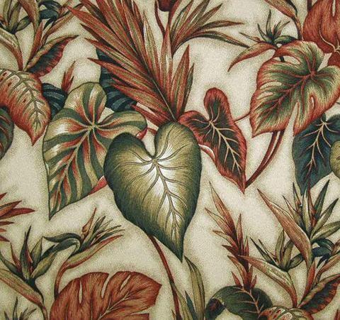Copa Cobana (Natural) - Leaf Design
