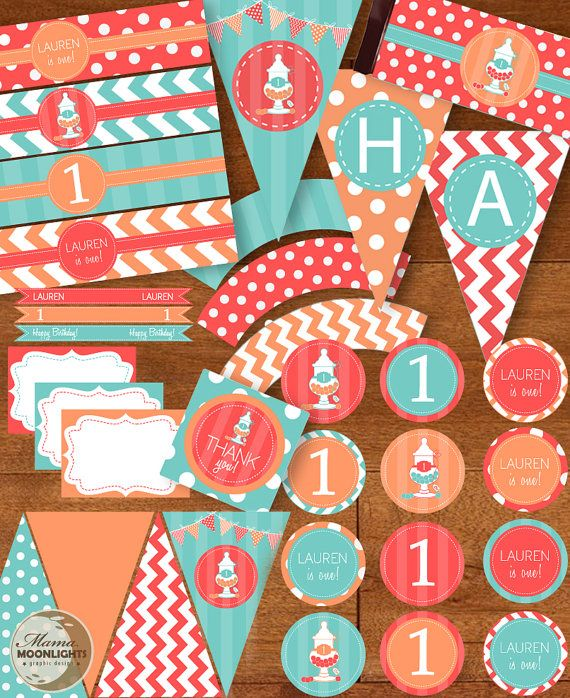 Hey, I found this really awesome Etsy listing at http://www.etsy.com/listing/152257035/sweet-first-birthday-party-printable