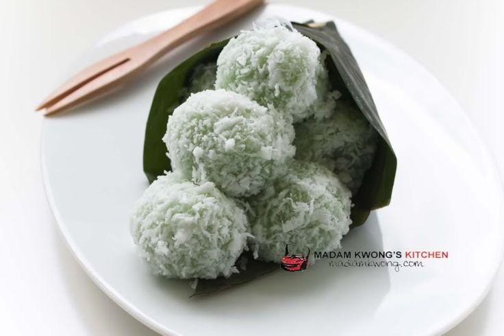 » Onde Onde recipe Madam Kwong's Kitchen