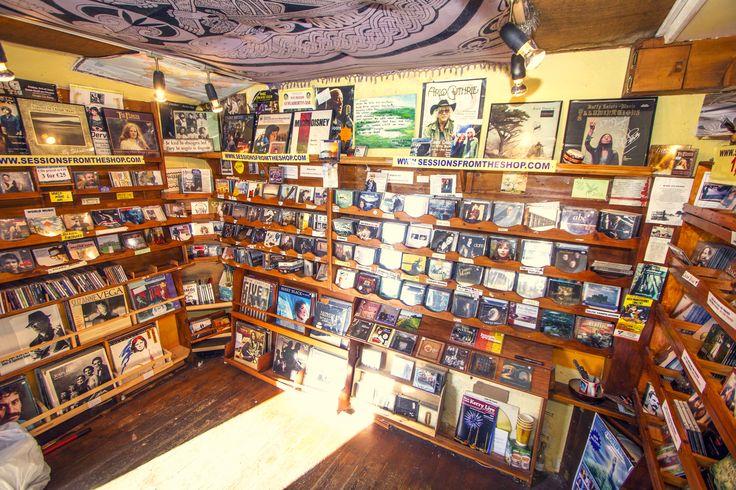 Welcome inside Dingle Record Shop. www.dinglerecordshop.com