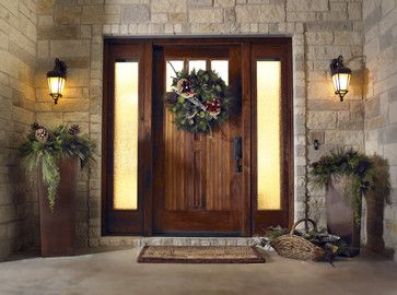 Moore Residence - traditional - front doors - austin - Ivan Industries