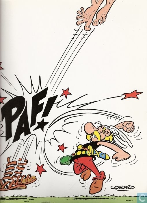 Carte postale - Astérix - Asterix - Paf