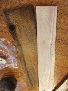 Vinegar Wood Stain