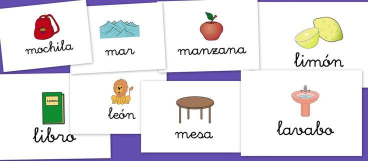 Bits de imágenes para repasar Vocabulario: L-M