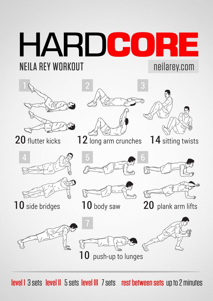 Hardcore Work Out 106